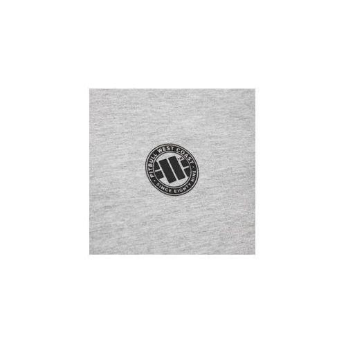 7f57f2528 Bluza damska rozpinana z kapturem Pit Bull French Terry Small Logo - Szara  (189101.1500)