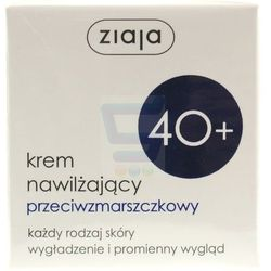 Ziaja 40+ Krem do twarzy nawilżający przeciwzmarszczkowy 50 ml