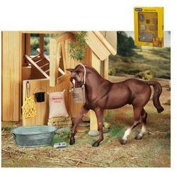 BREYER Zestaw stajenny do karmienia koni