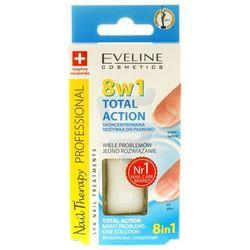 Eveline Nail Therapy Lakier odżywka 8w1 12ml