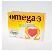 Omega-3 500 mg olej z łososia naturell x 120 kaps