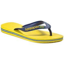 Japonki HAVAIANAS - Brasil Logo 41108502197 Citrus Yellow