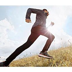 Męskie przeciwwiatrowe spodnie do biegania