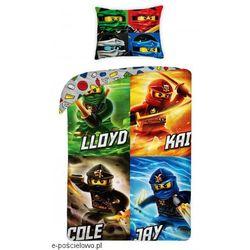 Pościel Lego Ninjago Spinjitzu
