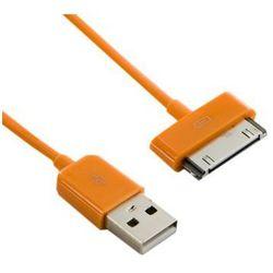 4world Kabel USB 2.0 do iPad / iPhone / iPod transfer/ładowanie 1.0m pomarańczowy DARMOWA DOSTAWA DO 400 SALONÓW !!
