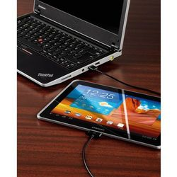 Kabel USB 2.0 Hama 108382, [1x Złącze męskie USB 2.0 A - 1x Złącze męskie Samsung], 1.20 m, Czarny