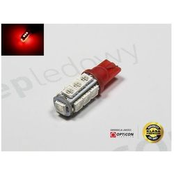 Żarówka Led W5W T10 13x SMD5050 Czerwony