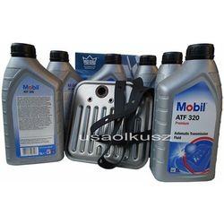 Filtr oraz olej Mobil ATF-320 skrzyni biegów Dodge RAM -2007