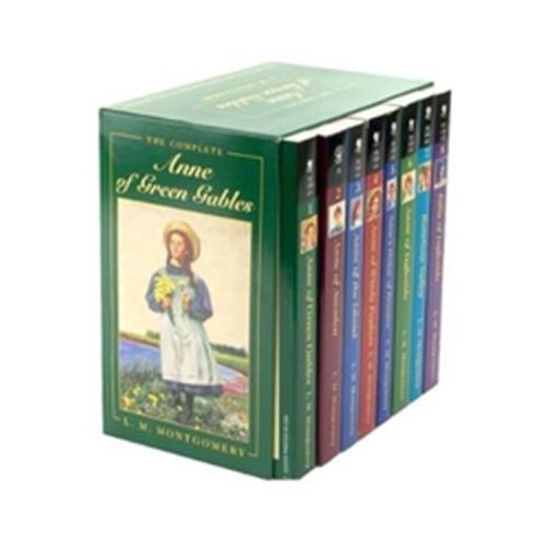 Anne of Green Gables Complete 8 Book Box Set Montgomery Lee