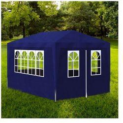 Namiot na imprezy okolicznościowe z 4 ścianami 3 x 4 m niebieski Zapisz się do naszego Newslettera i odbierz voucher 20 PLN na zakupy w VidaXL!