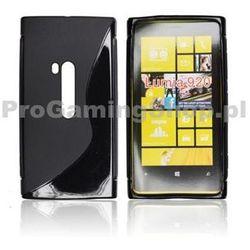 Etui silikonowe S-TYPE do Nokia Lumia 930, Transparent