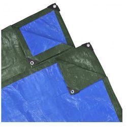 Pokrywa, plandeka (5 x 6 m) niebiesko-zielona Zapisz się do naszego Newslettera i odbierz voucher 20 PLN na zakupy w VidaXL!