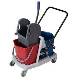 Wózek PROFESIONAL II dwuwiaderkowy2x17 litrów