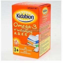 Kidabion o sm. pomarań. kaps.do żucia - 30 kaps.