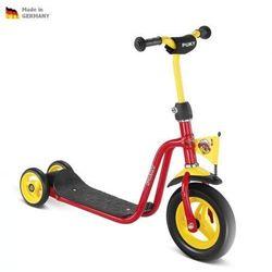 NOWY MODEL - Dziecięca czerwona hulajnoga SCOOTER R1 PUKY 5163
