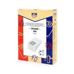 Worki K&M Z08 Zelmer 2000F 5szt + 2 filtry