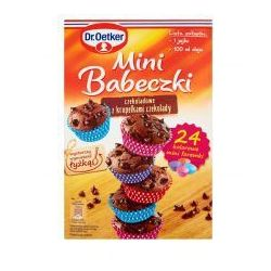 Mini babeczki czekoladowe z kropelkami czekolady 245 g Dr. Oetker