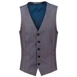 Burton Menswear London SKINNY Kamizelka garniturowa grey