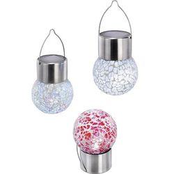 Oświetlenie dekoracyjne, solarne Crystall Color Esotec, 102306, Crystall Color, LED wbudowany na stałe, 1x 1,2 V (300 mAh), 6 h, Biały, zimny, IP44