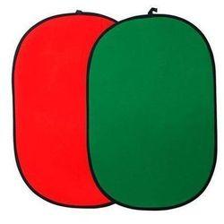Funsports Tło fotograficzne 102x153cm czerwono-zielone