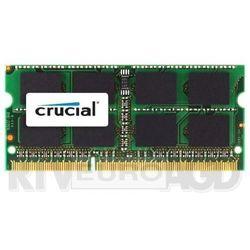 Crucial DDR3 16GB (2 x 8GB) 1600 CL11 SODIMM - produkt w magazynie - szybka wysyłka! Darmowy transport od 99 zł | Ponad 200 sklepów stacjonarnych | Okazje dnia!