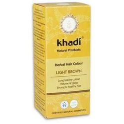 Henna Khadi Jasny Brąz - ziołowa farba do włosów