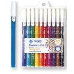 Długopisy żelowe 10 kolorów ZENITH