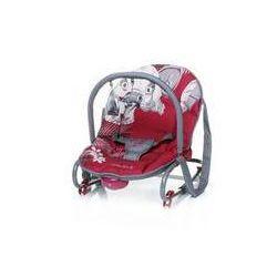 Leżaczek dla dzieci 4Baby JUNGLE Red Czerwone