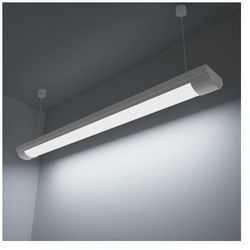 Lampa sufitowa, świetlówka LED 28W zimny biały+zestaw do zawieszania Zapisz się do naszego Newslettera i odbierz voucher 20 PLN na zakupy w VidaXL!