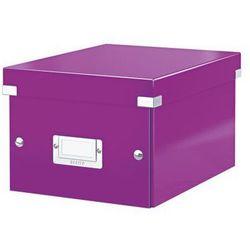 Pudło uniwersalne Leitz Click&Store Wow 6043 - fioletowe