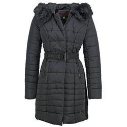 Cortefiel Płaszcz zimowy black