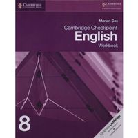 Cambridge Checkpoint English Workbook 8 - Marian Cox (opr. miękka)