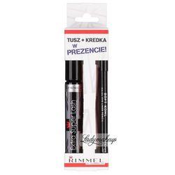 RIMMEL - Extra super Lash + Soft Kohl Pencil - Tusz do rzęs + kredka do oczu - ZESTAW