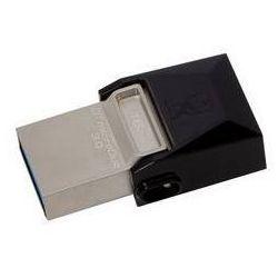 Pamięć USB Kingston DataTraveler Micro Duo 3.0 16GB OTG (DTDUO3/16GB) Czarny