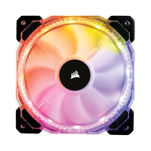 Corsair Fan HD120 High Performance RGB LED PWM with Controller Three Pack