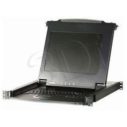 Konsola KVM VGA, ATEN CL1008M-AT-XG, USB, PS/2, 1280 x 1024 px, Ilość przełączalnych PC: 8