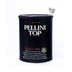 Kawa mielona Pellini Top 250g - puszka - ŚWIEŻA paczkomaty 6 zł wysyłka 24h