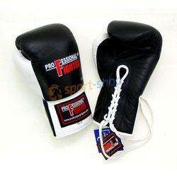 Rękawice bokserskie sznurowane Professional Fighter
