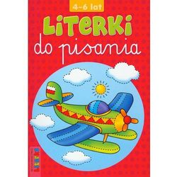 Literki do pisania 4-6 lat (opr. miękka)