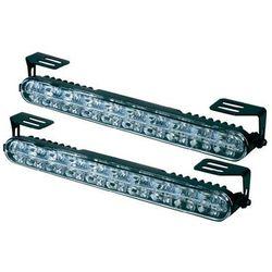 Zestaw lamp samochodowych do jazdy dziennej LED DINO 610790, 12/24 V, światła pozycyjne