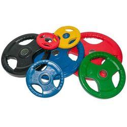 Obciążenie olimpijskie gumowane 15kg kolorowe