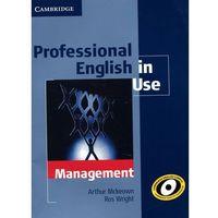 Professional English in Use Management (opr. miękka)
