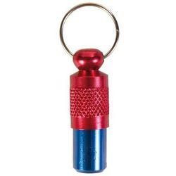 Trixie adresówka dla psa metalowa czerwono-niebieska