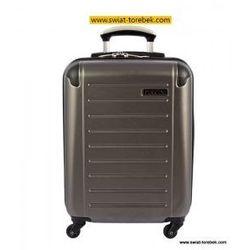 cbf0d8d3bd4f6 PUCCINI walizka mała/ kabinowa z kolekcji PC016 twarda 4 koła materiał  Policarbonite zamek szyfrowy z