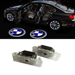 2x LED Car Door Courtesy Laser Projector Logo Ghost Shadow Light FOR BMW E39 E53 x5