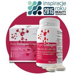 Noble Medica Pure Collagen Kolagen morski z elastyną i antyoksydantami, 100 Tabletek 650 mg
