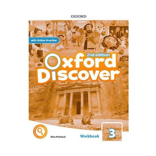 Oxford Discover: Level 3: Workbook with Online Practice (opr. broszurowa)