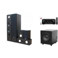 DENON AVR-X2200 + TAGA TAV-806 + TSW-90 - Kino domowe - Autoryzowany sprzedawca