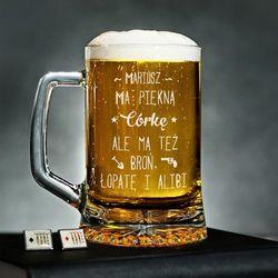 Piękna córka - Personalizowany Kufel - Kufel do piwa