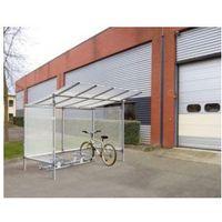 Wiata rowerowa aluminiowa typu